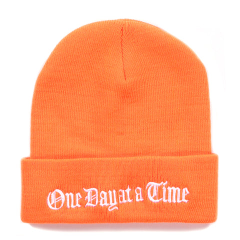 GROVELAND TIME BEANIE SAFTEY ORANGE