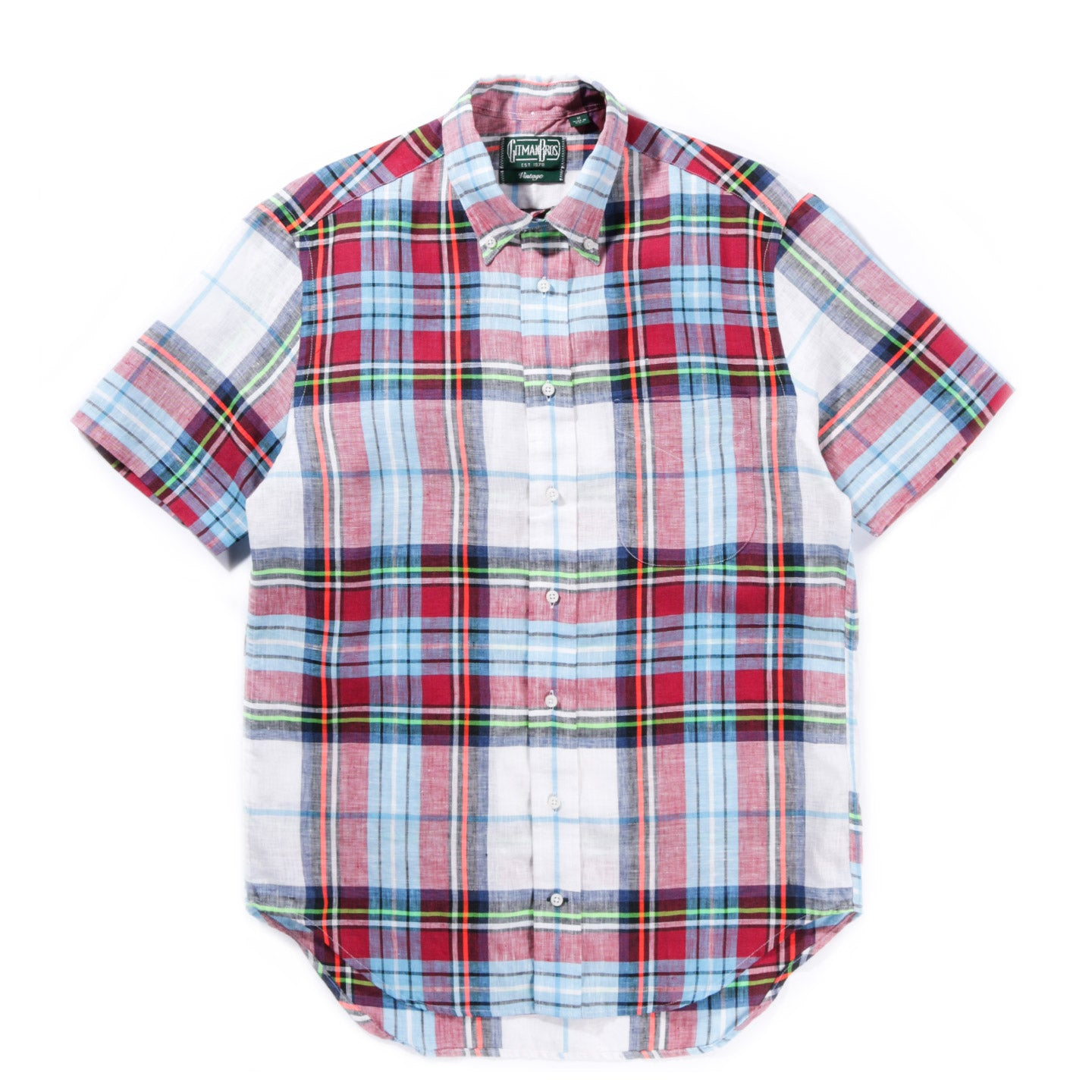 GITMAN VINTAGE FLANNEL GREY