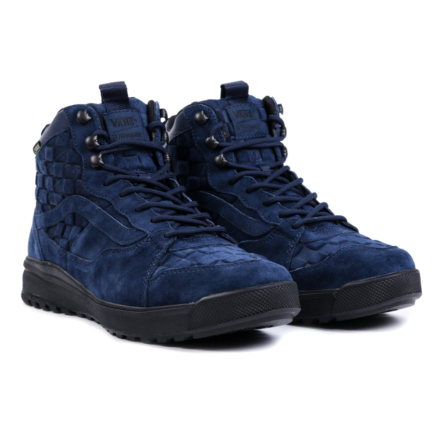 VAULT BY VANS ULTRARANGE HI GORE-TEX MTE CHECKERBOARD DRESS BLUES