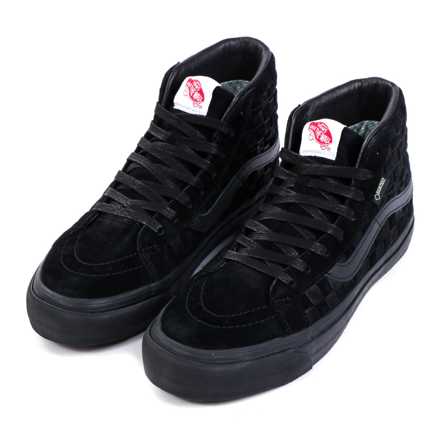 VAULT BY VANS SK8-HI GORE-TEX  LX CHECKERBOARD BLACK