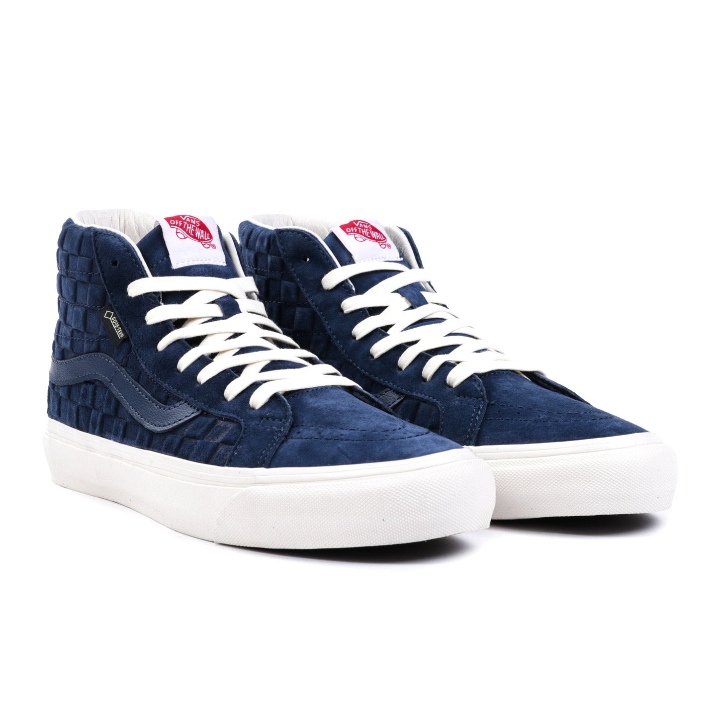 VAULT BY VANS SK8-HI GORE-TEX LX CHECKERBOARD DRESS BLUES
