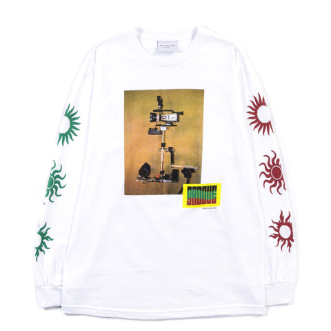 GROVELAND STEADY SUN L/S TEE WHITE