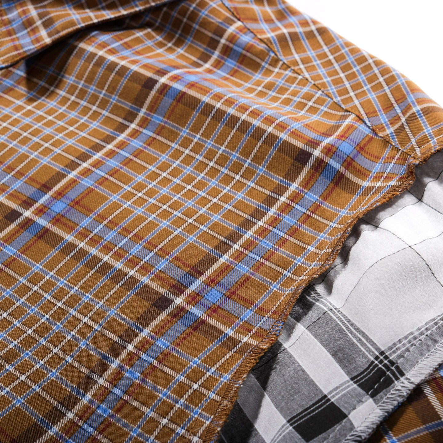 N.HOOLYWOOD 1201-SH08 OVERSIZED CHECK SHIRT BLUE