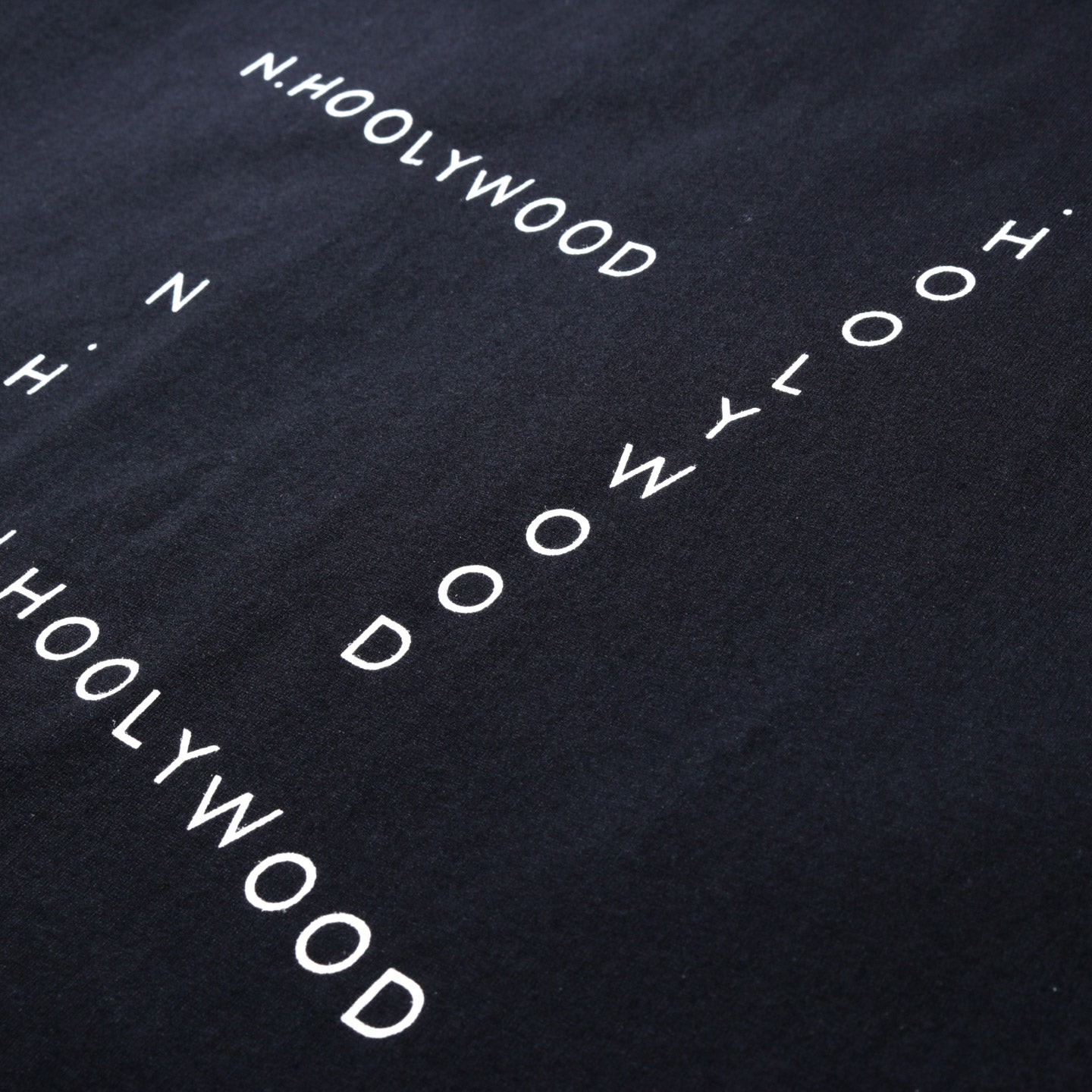 N.HOOLYWOOD 191-CS29 SS GRAPHIC T-SHIRT BLACK