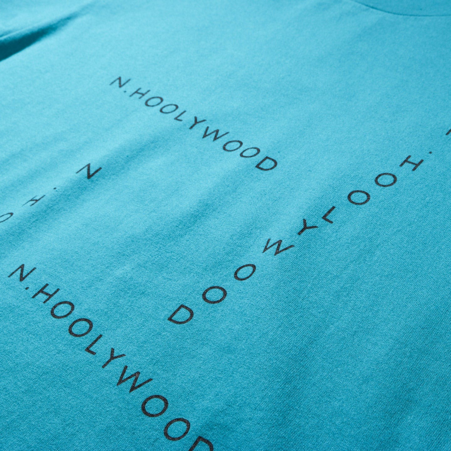 N.HOOLYWOOD 191-CS29 SS GRAPHIC T-SHIRT GREEN