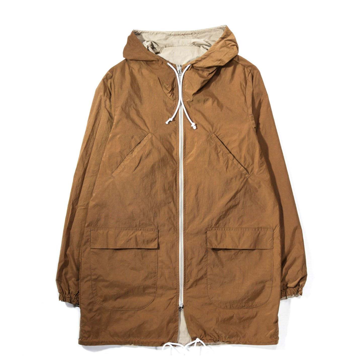 HOUSE OF ST. CLAIR REVERSIBLE PARKA TAN / CINNAMON RIPSTOP