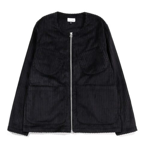 HOUSE OF ST. CLAIR LINCOLN JACKET HI-LO CORDUROY BLACK