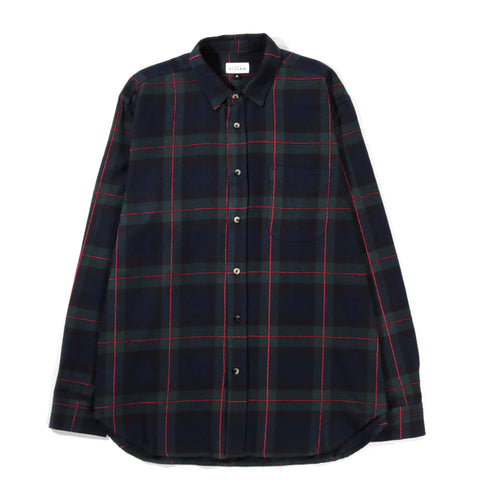 HOUSE OF ST. CLAIR 1905 SHIRT PLAID NAVY