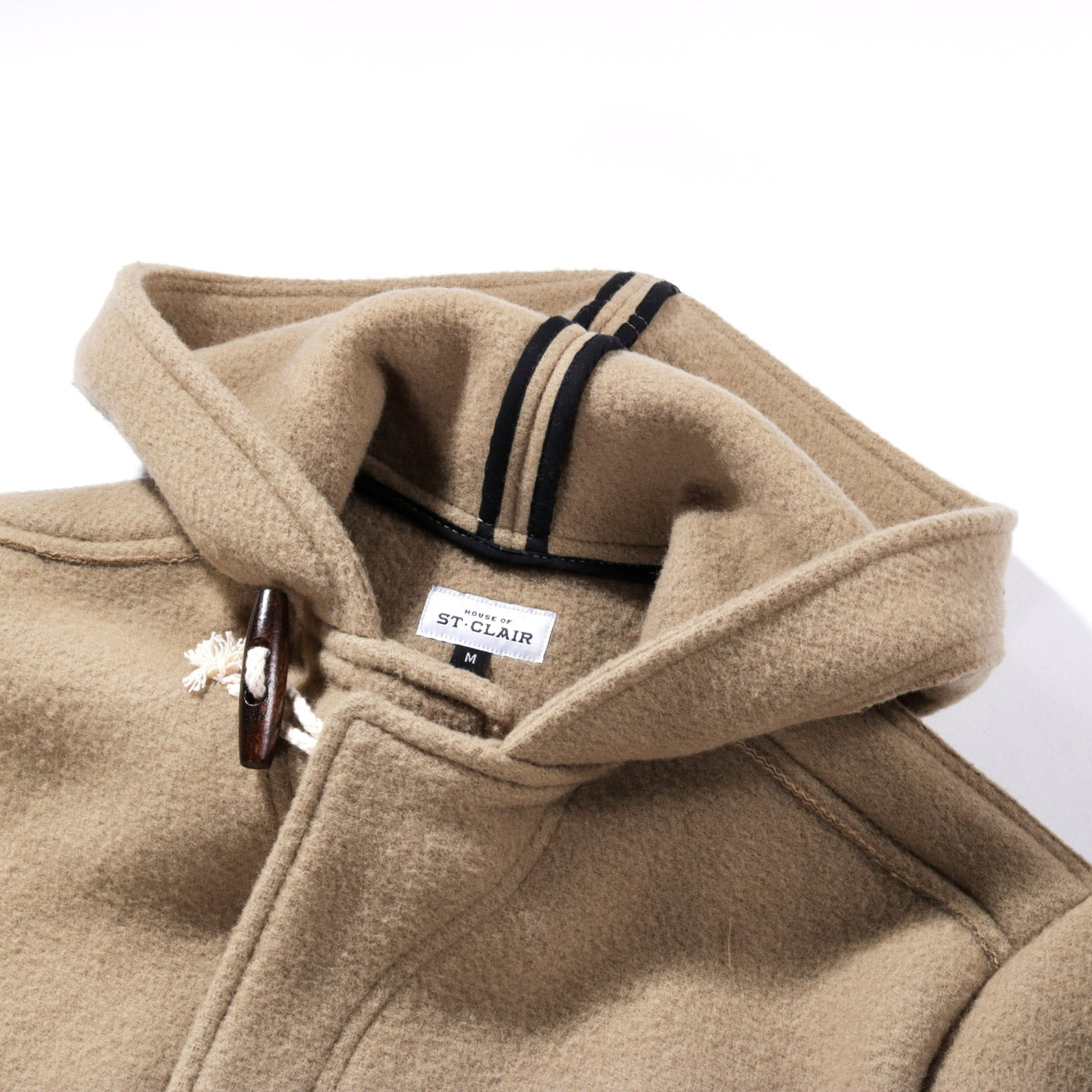 HOUSE OF ST. CLAIR BELLE ISLE TOGGLE COAT CAMEL DUFFLE