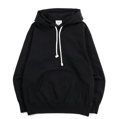 JACKMAN HIGH DENSITY PULLOVER PARKA BLACK