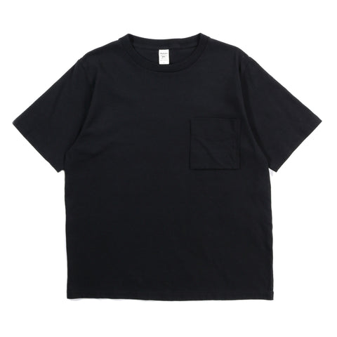 JACKMAN POCKET TEE BLACK