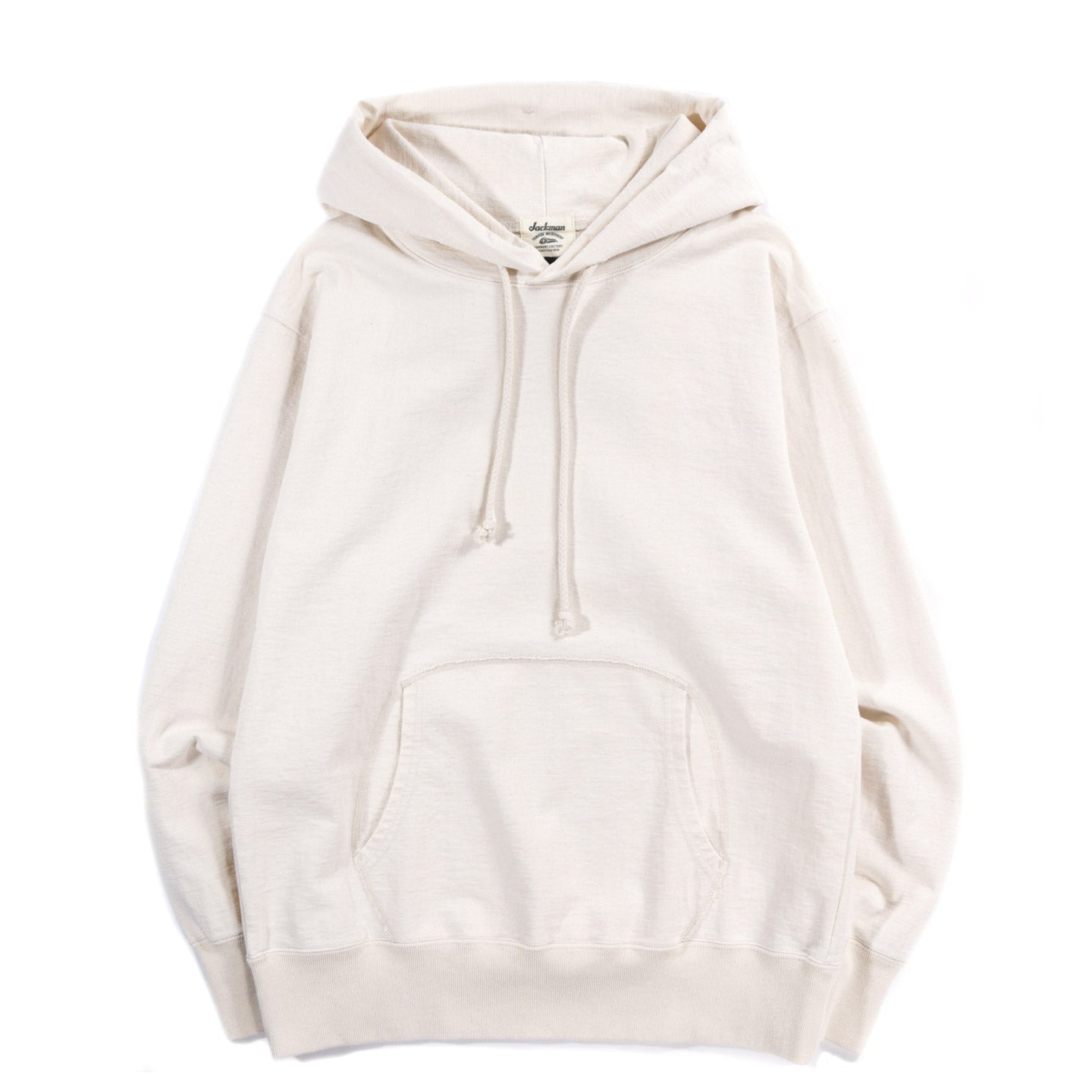 JACKMAN HIGH DENSITY PULLOVER PARKA ECRU