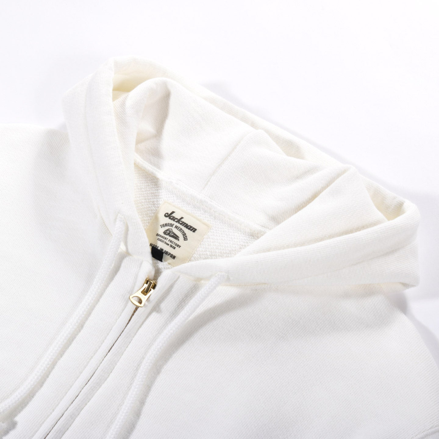 JACKMAN GG SWEAT PARKA WHITE