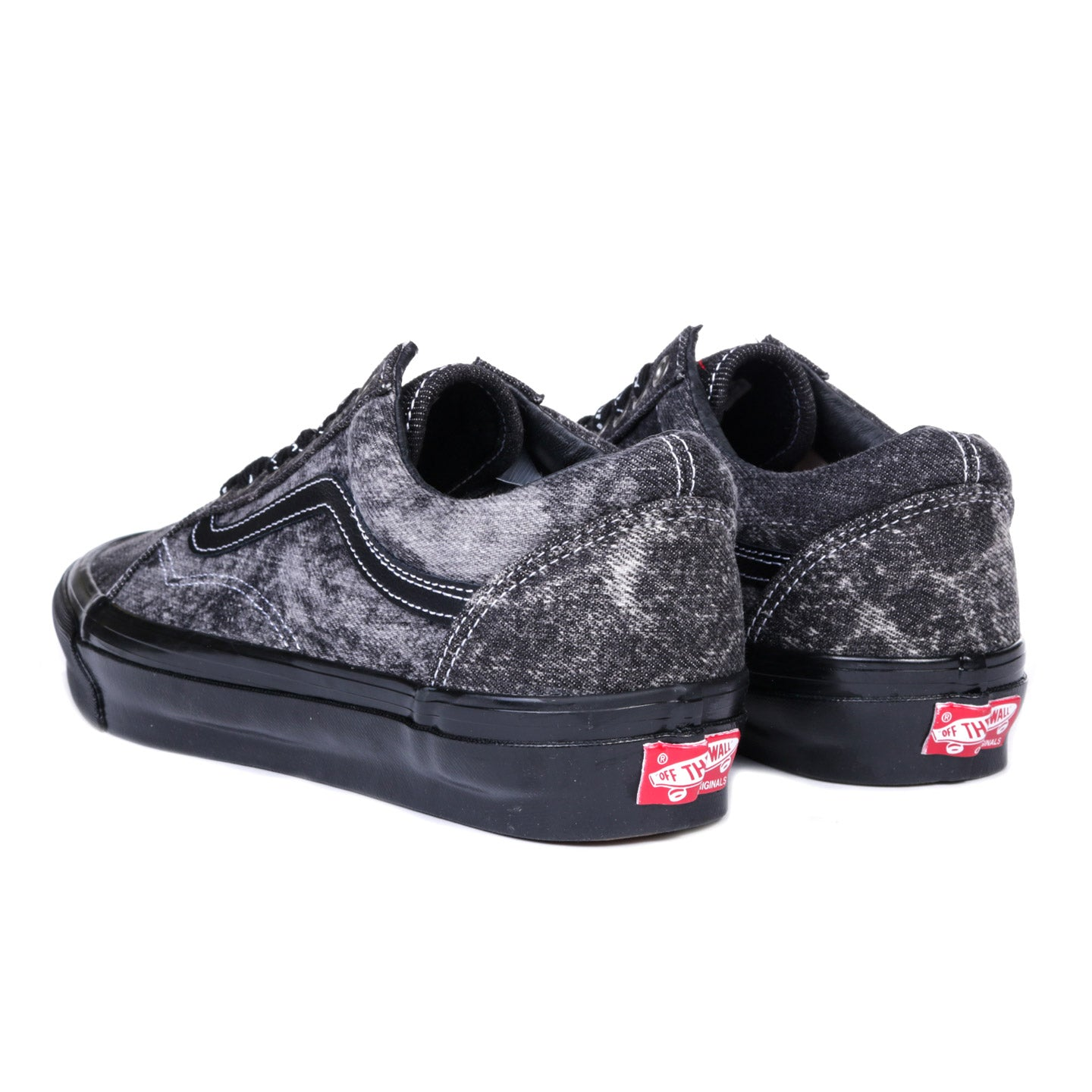 VAULT BY VANS JIM GOLDBERG OG OLD SKOOL LX ACID WASH DENIM