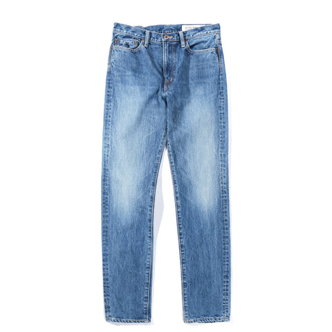 KAPITAL 14OZ DENIM 5P STONE MIDTONE WASH