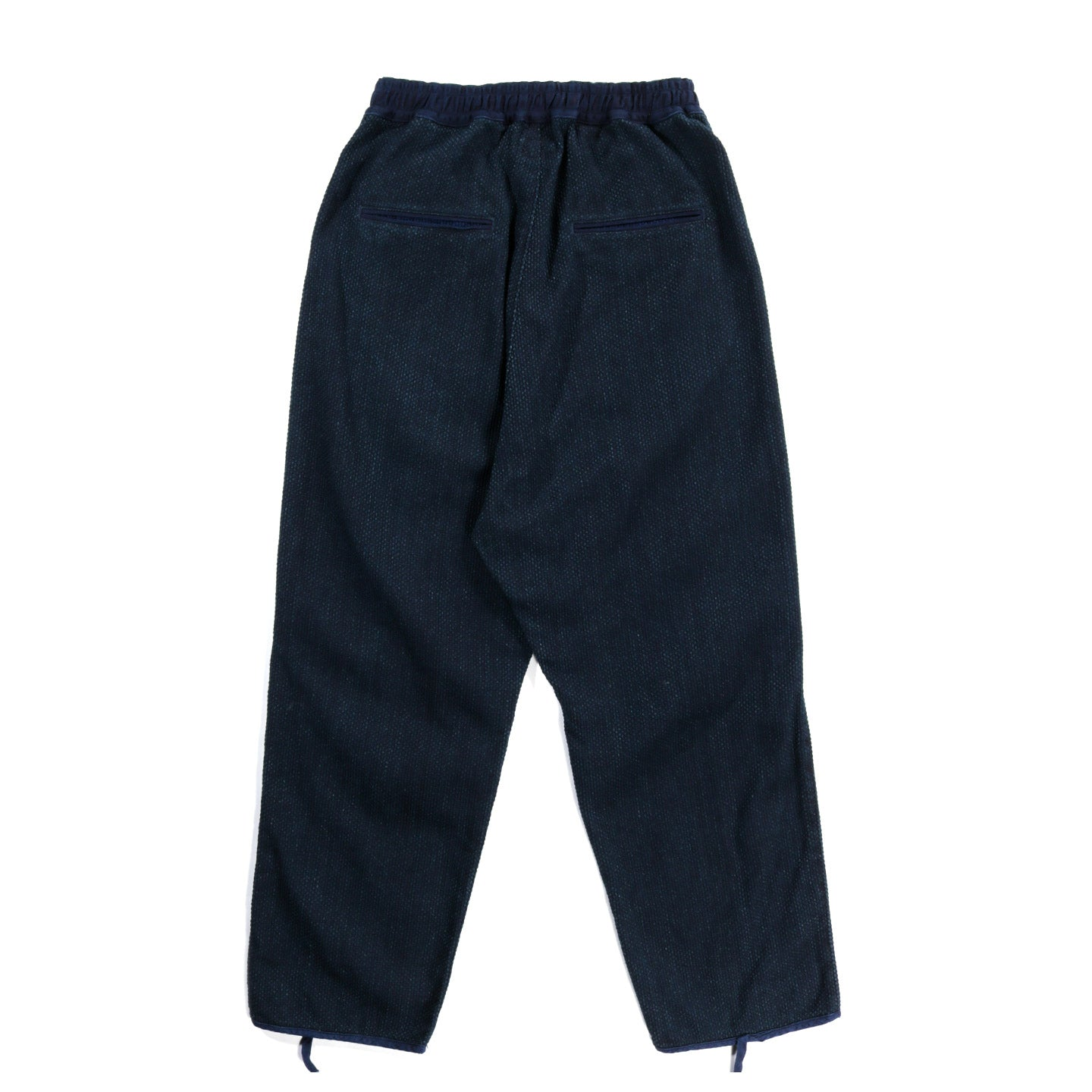 KAPITAL KOUNTRY DO-GI CANVAS EASY PANTS BONE INDIGO