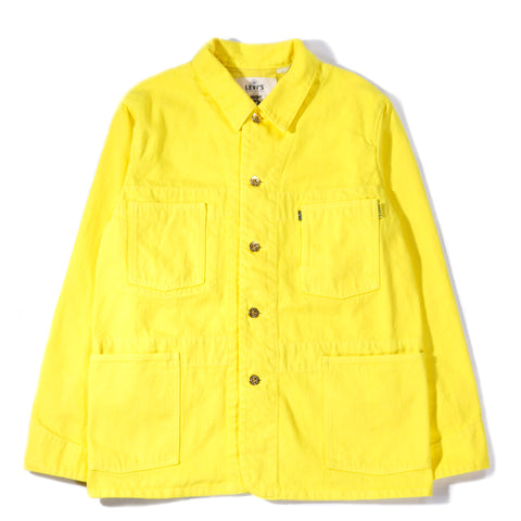 LEVI'S MADE & CRAFTED POGGY SACK COAT YELLOW