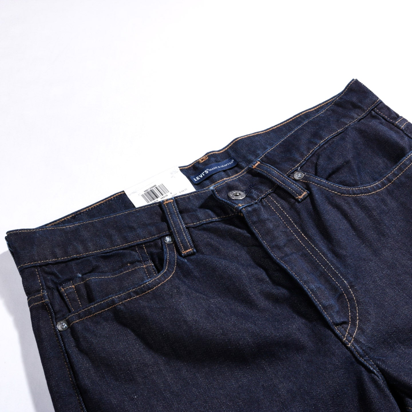 LEVI'S MADE & CRAFTED 510 INDIGO RESIN