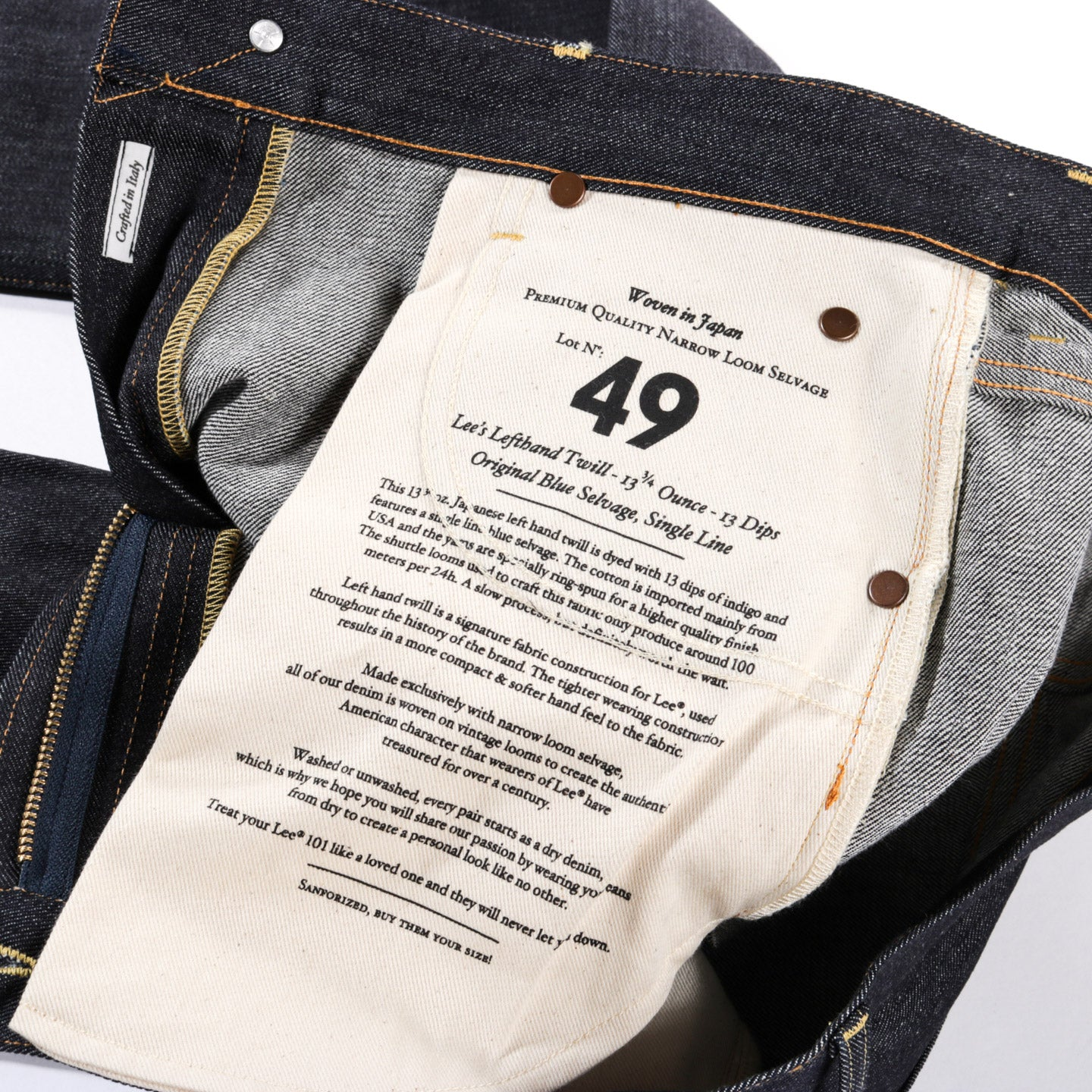 LEVI'S MADE & CRAFTED DRAFT TAPER BANZAI PIPELINE