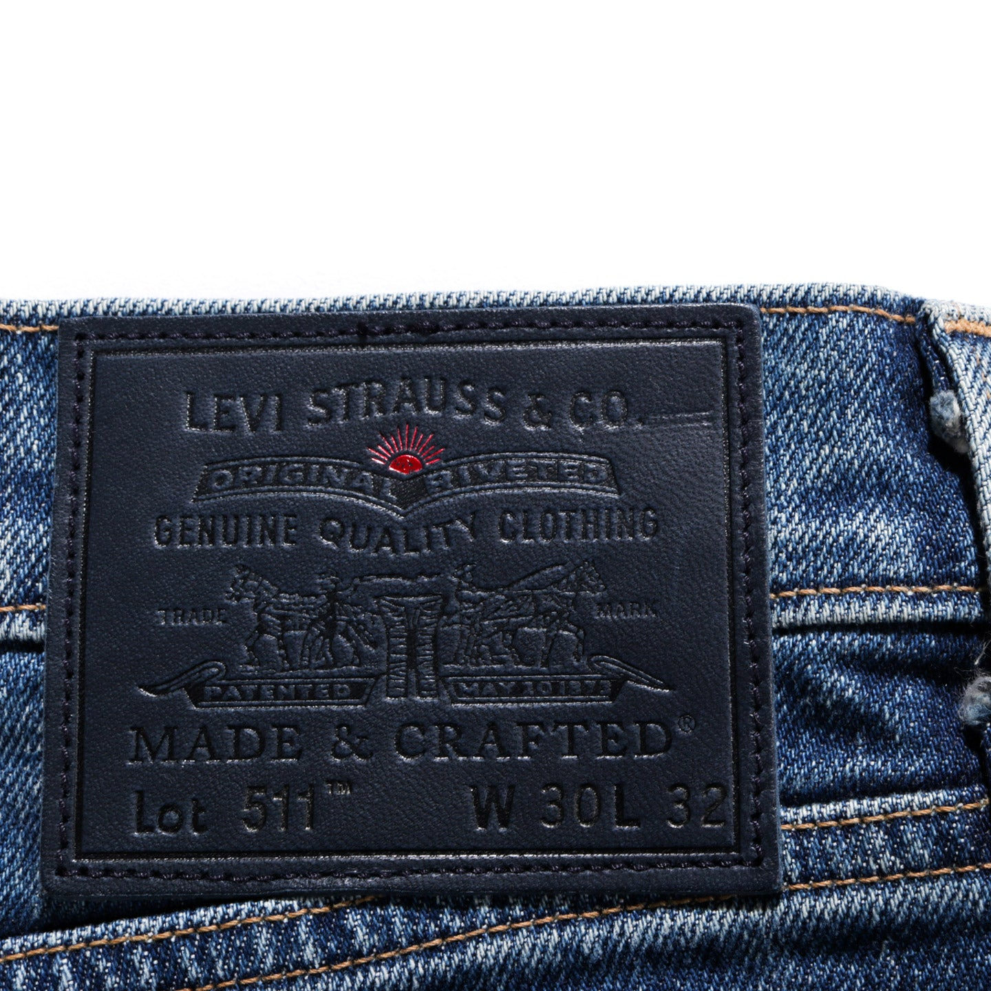 LEVI'S MADE & CRAFTED 511 FUJI SELVEDGE