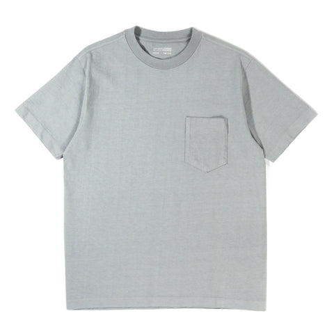 LADY WHITE CO. BALTA POCKET T-SHIRT STEEL GREY