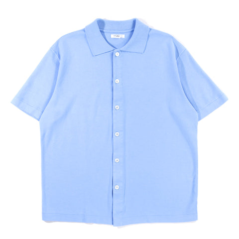 LADY WHITE CO. S/S PLACKET POLO SKY BLUE