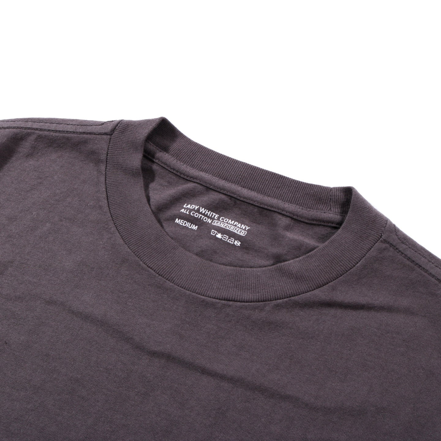 LADY WHITE CO. BALTA POCKET T-SHIRT FADED BLACK