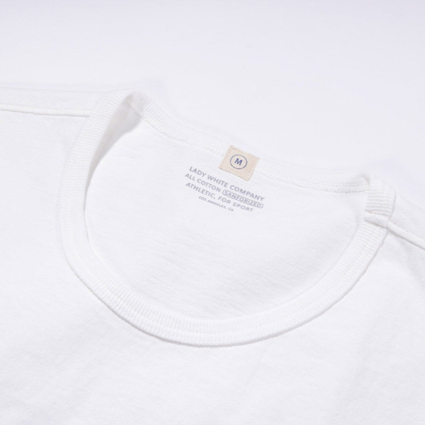 LADY WHITE CO. T-SHIRT 2-PACK WHITE