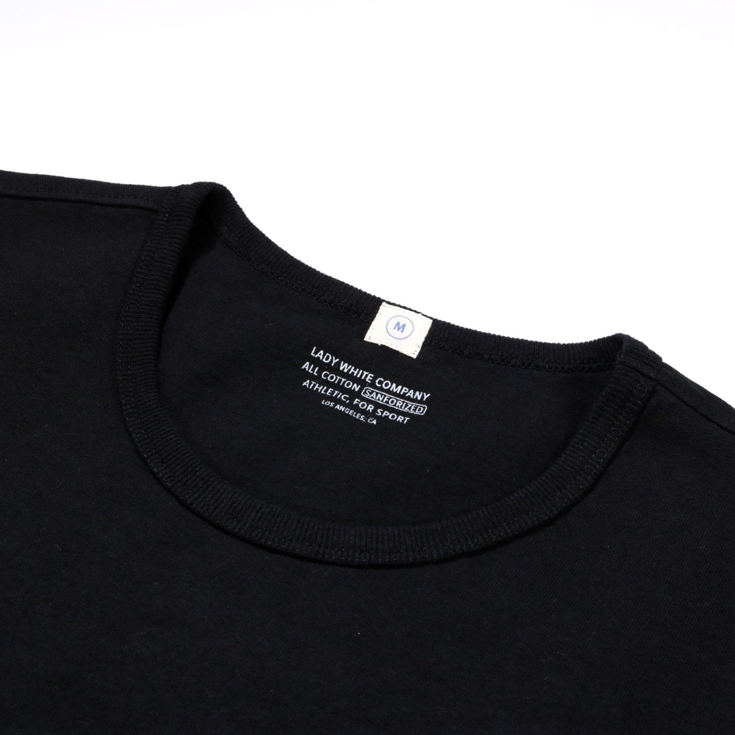 LADY WHITE CO. T-SHIRT 2-PACK BLACK