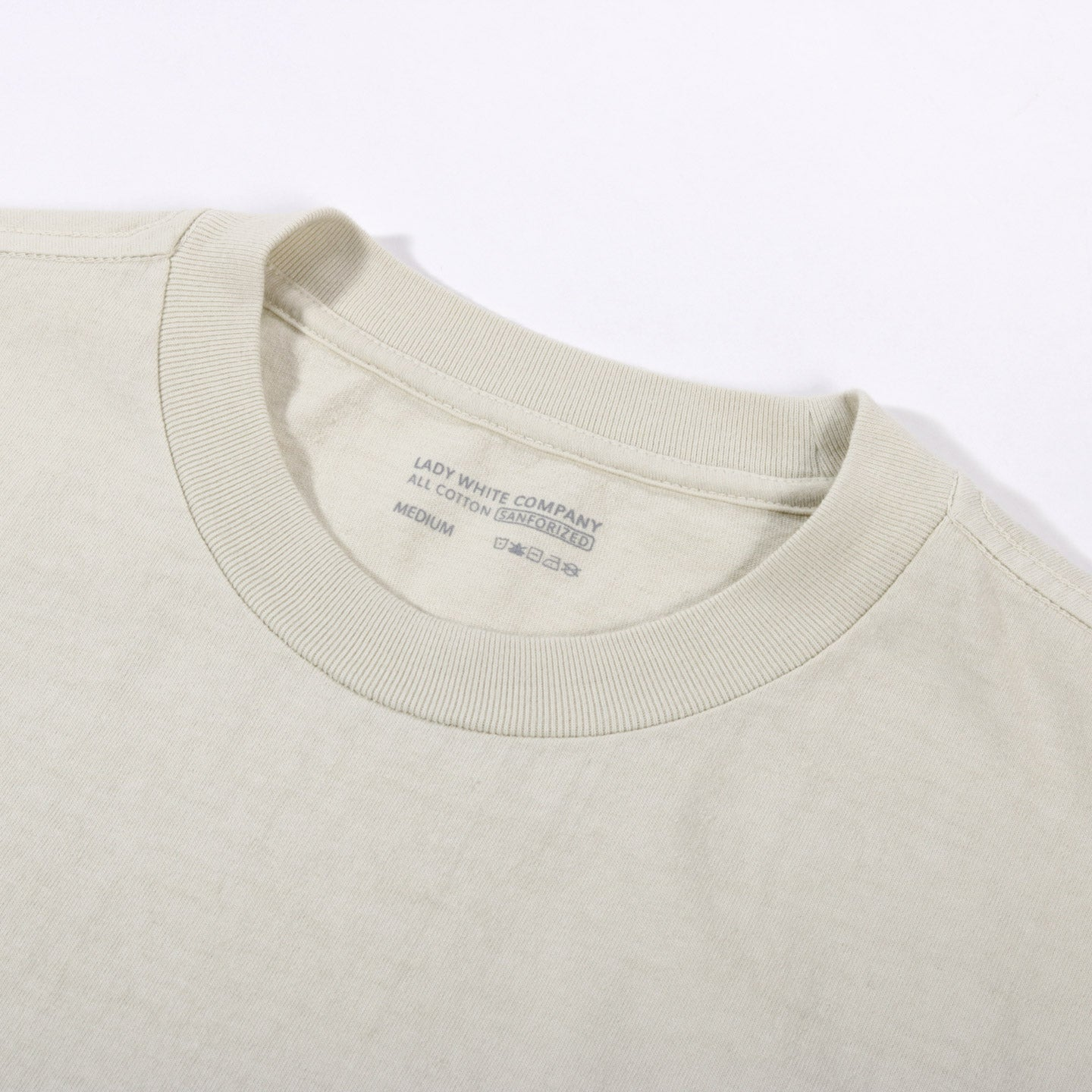LADY WHITE CO. BALTA POCKET T-SHIRT BONE