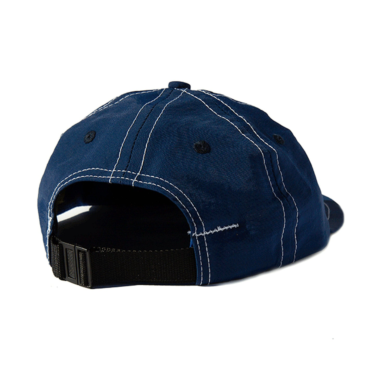 LITE YEAR SIX PANEL CAP NAVY NYLON TASLAN