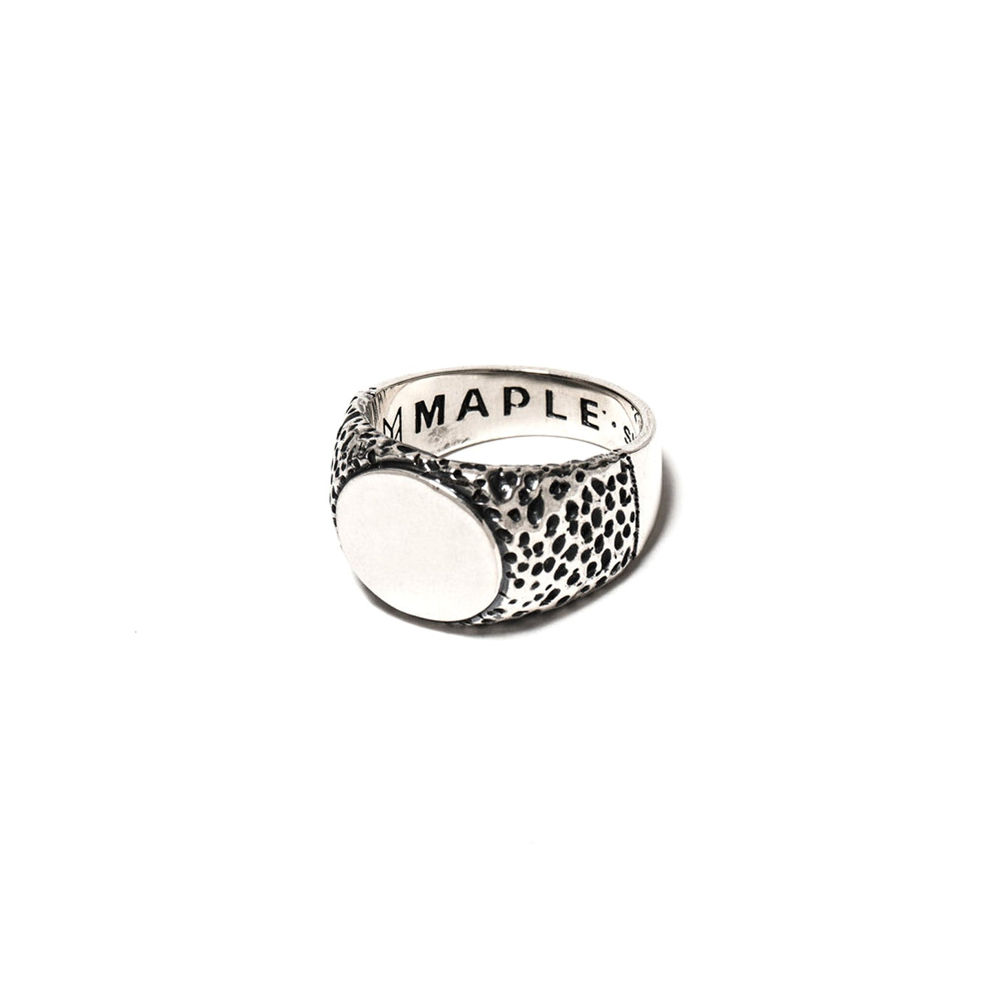 MAPLE NUGGET RING SILVER 925