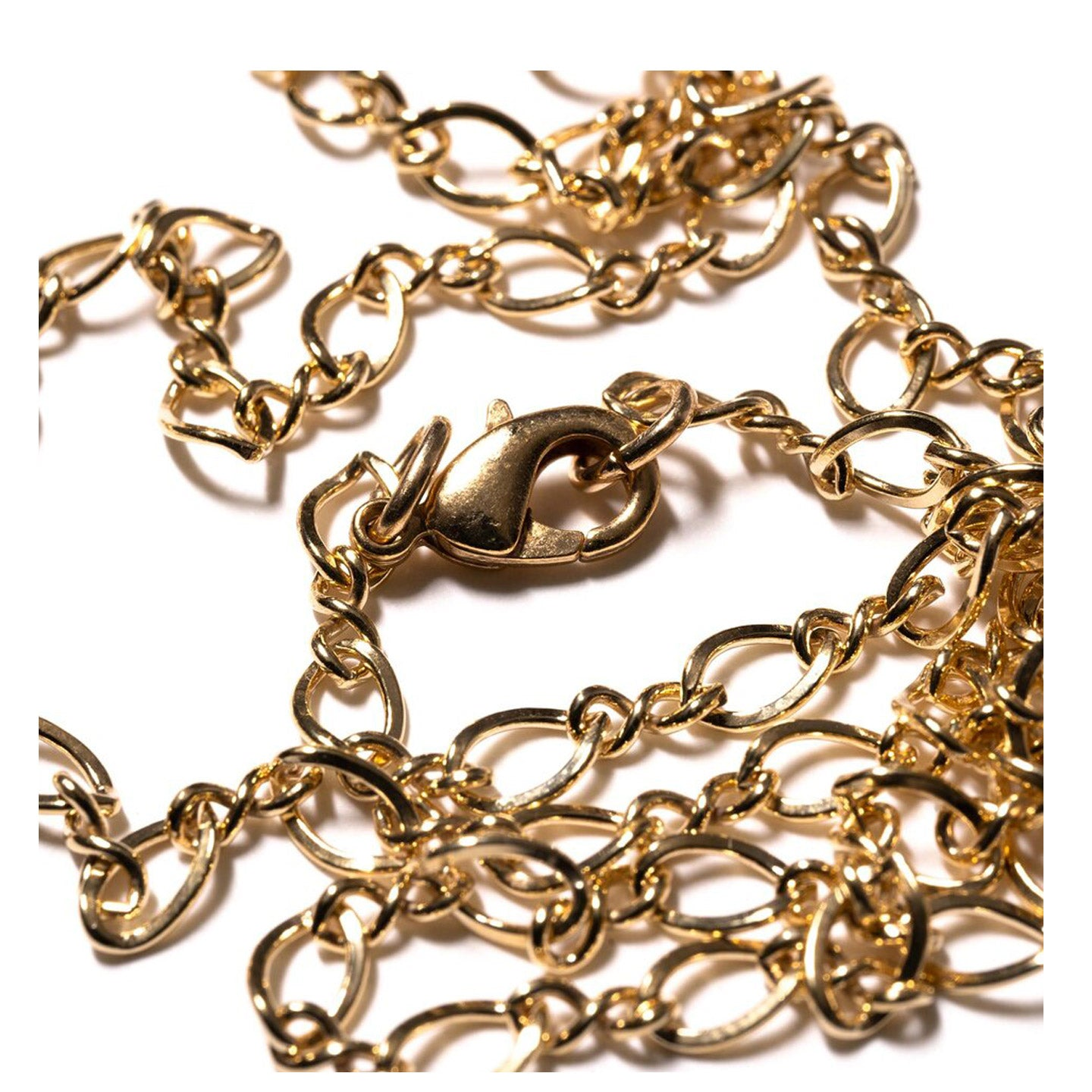 MAPLE FIGURE EIGHT CHAIN 14K GOLD FILLED
