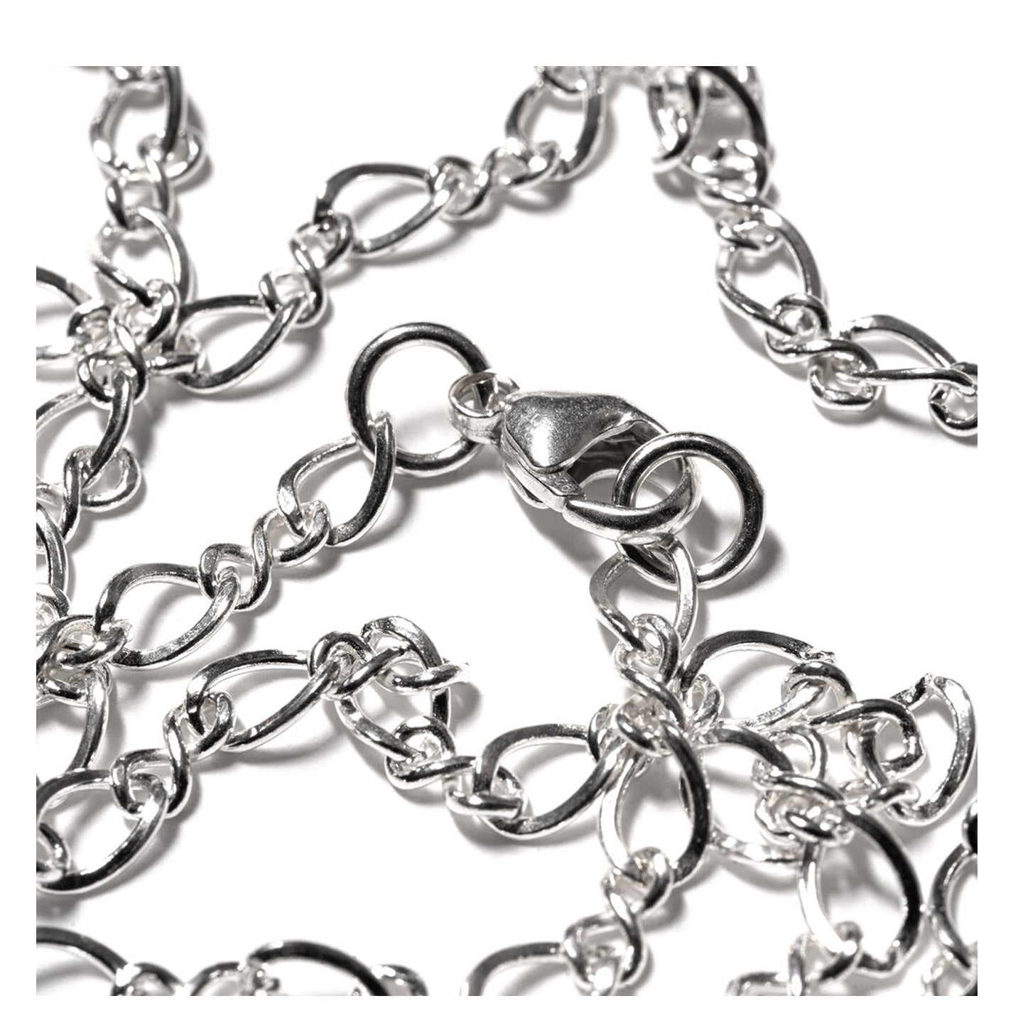 MAPLE FIGURE EIGHT CHAIN SILVER 925