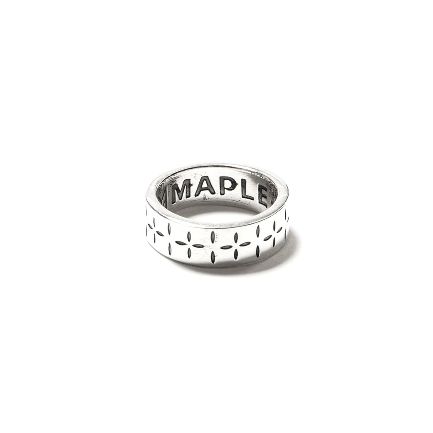 MAPLE BANDANA RING SILVER 925