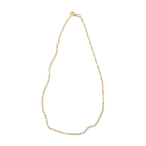 MAPLE FIGARO CHAIN 14K GOLD FILLED
