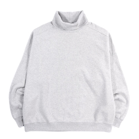 MONITALY TURTLENECK SWEATSHIRT HEATHER GREY