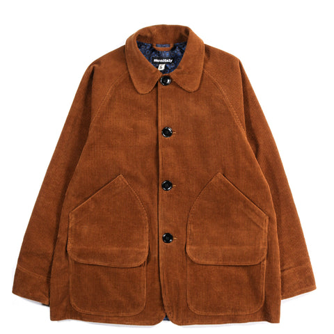 MONITALY FARMER'S JACKET CHESTNUT CORDUROY