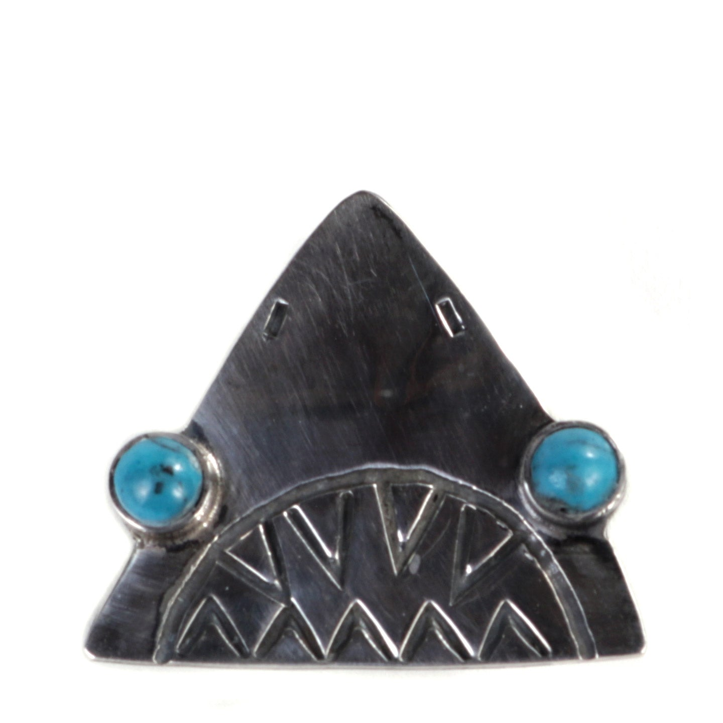 MUNQA JAWS PIN STERLING SILVER
