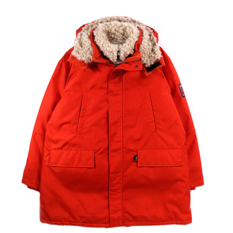 NAPAPIJRI BY MARTINE ROSE A-SAIMAA PARKA RED CLAY