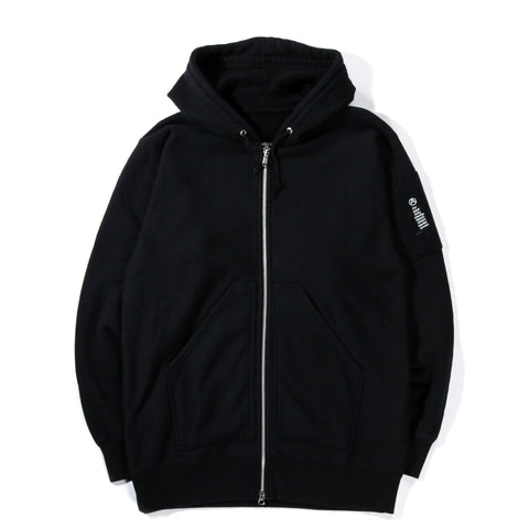MOUNTAIN RESEARCH ZIP HOODY BLACK
