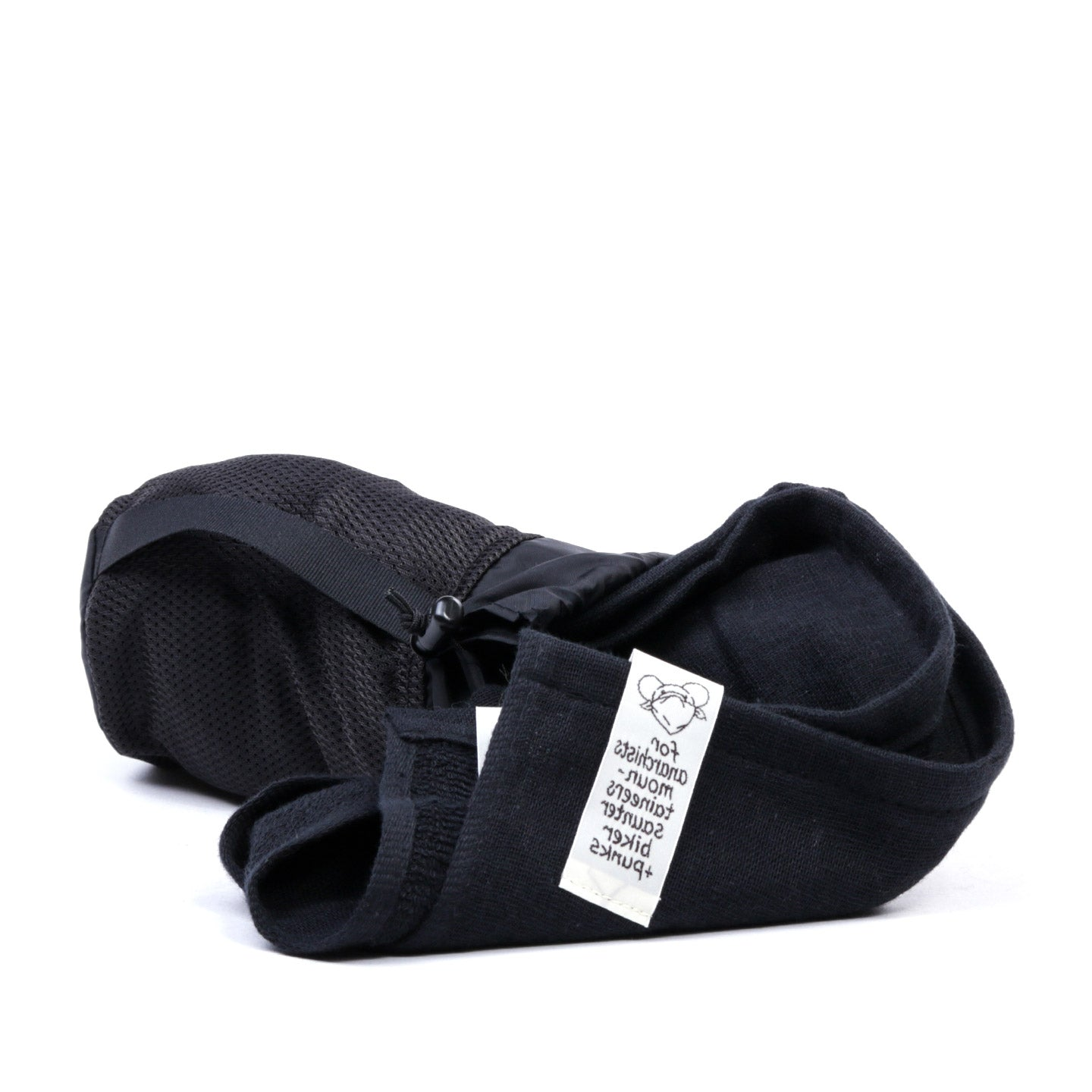 MOUNTAIN RESEARCH PROTESTER'S TOWEL BLACK