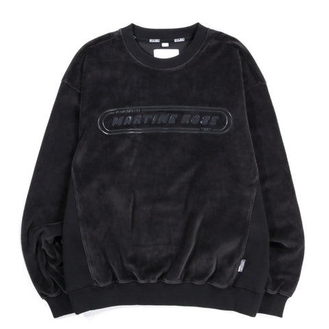 NAPAPIJRI BY MARTINE ROSE B-REPOVESI C CREW NECK BLACK