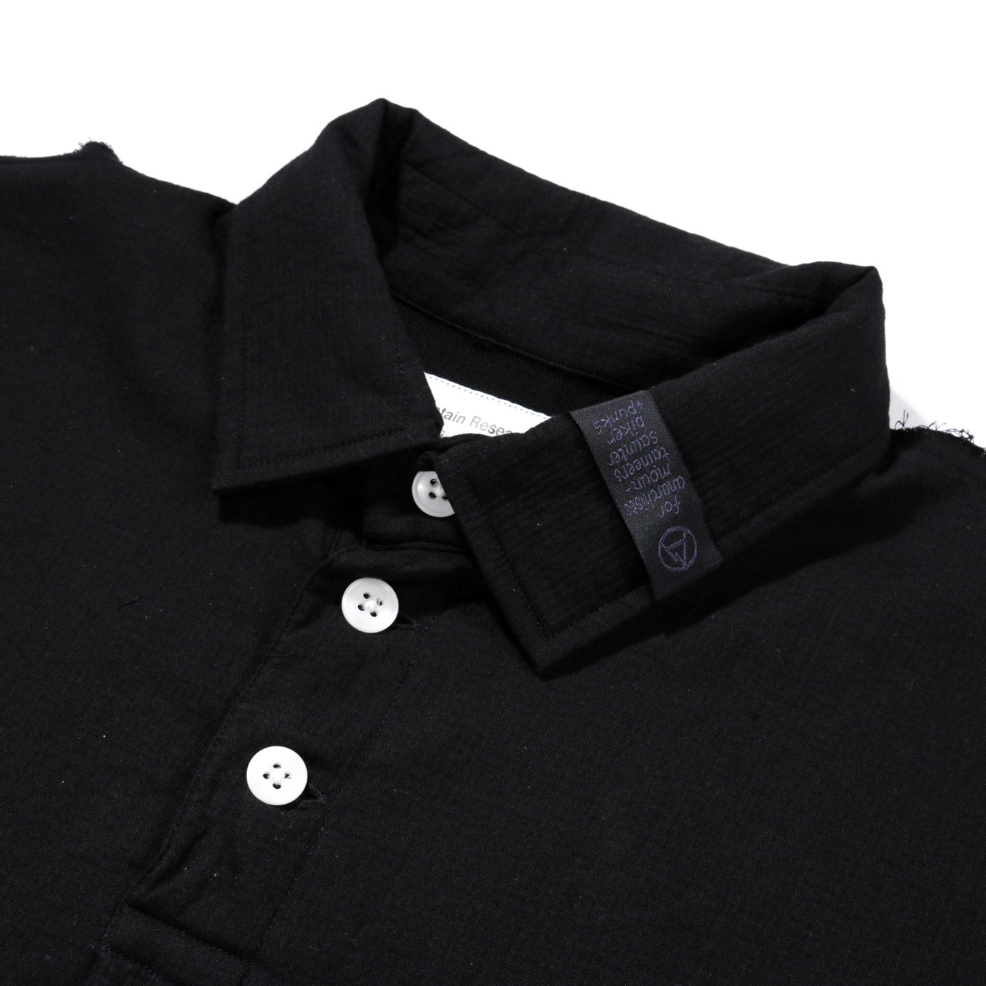 MOUNTAIN RESEARCH MUSLIN SHIRT BLACK