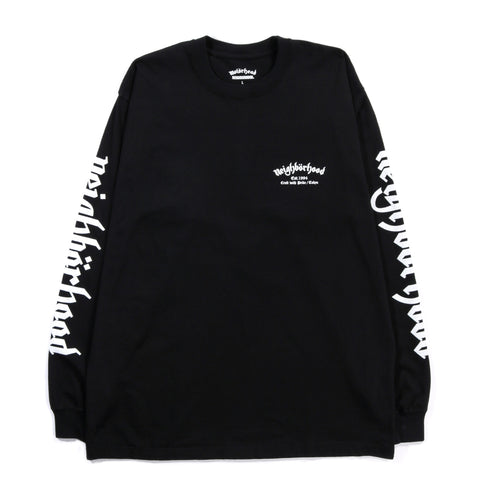 NEIGHBORHOOD MOTORHEAD LS TEE BLACK
