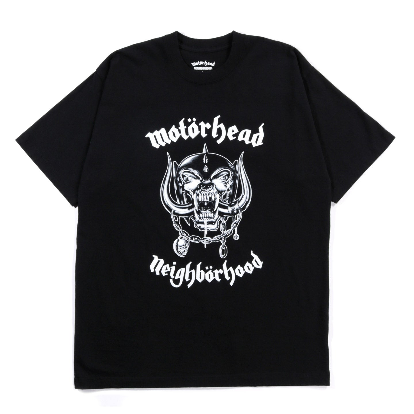NEIGHBORHOOD MOTORHEAD SS TEE BLACK