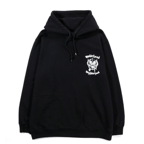 NEIGHBORHOOD MOTORHEAD HOODED SWEATSHIRT BLACK