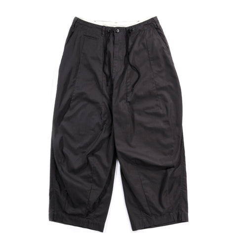 NEEDLES H.D. PANT MILITARY CHARCOAL