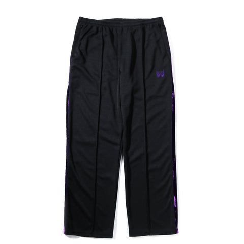 NEEDLES SIDE LINE CENTER SEAM PANT POLY BLACK