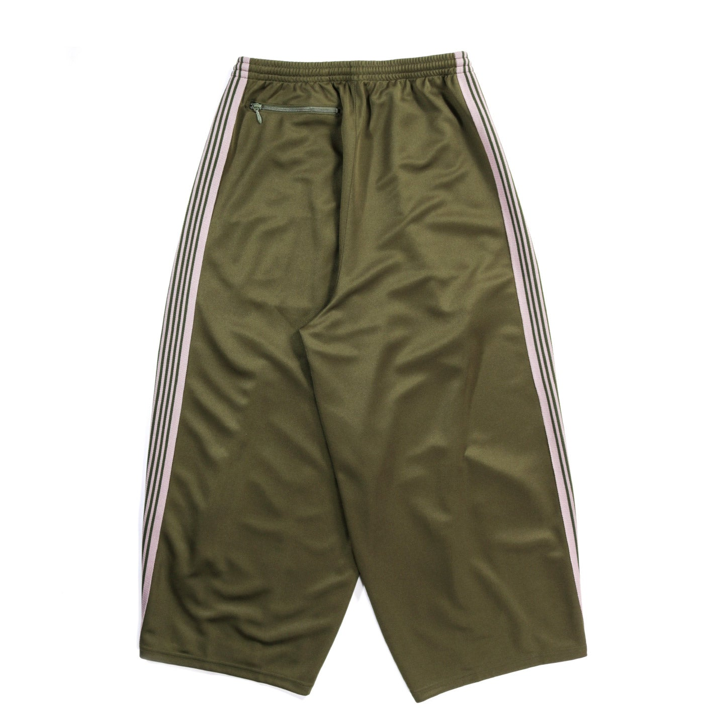 NEEDLES H.D. TRACK PANT POLY SMOOTH OLIVE